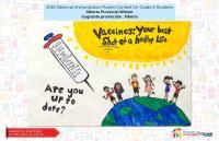 national immunization poster contest immunizecanada