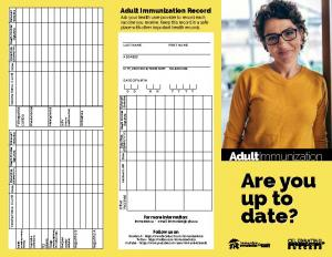 image about Immunization Card Printable named Immunization Background for Older people immunizecanada